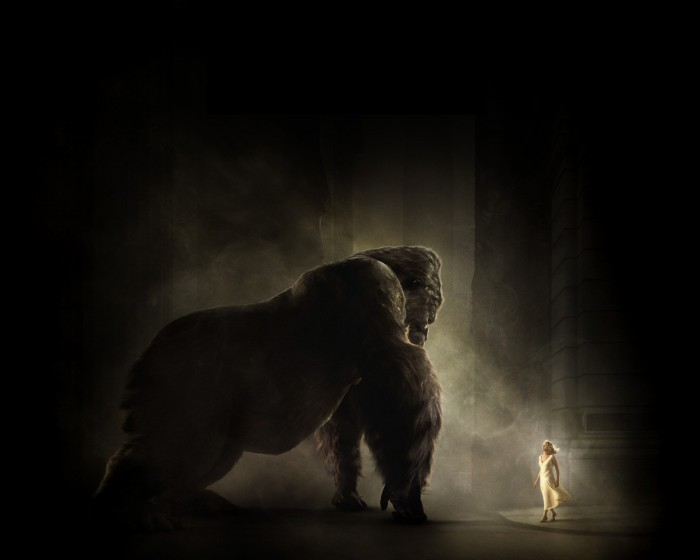 king kong finds a babe