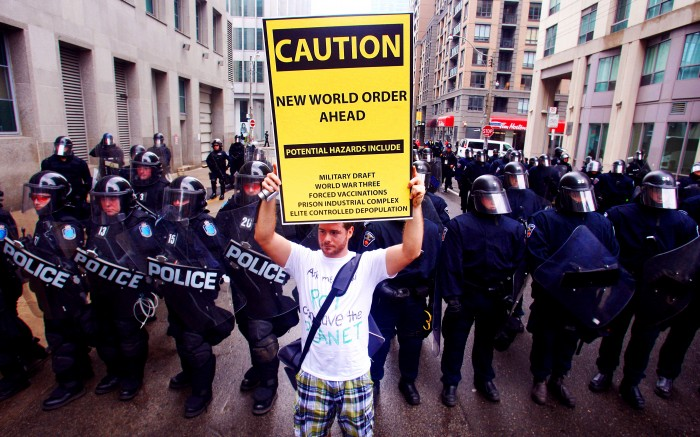 new world order ahead