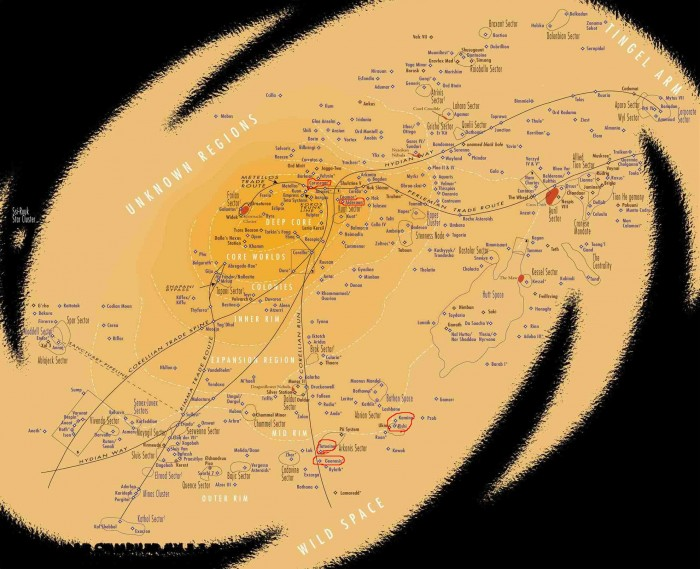 star wars galactic map 700x569 star wars galactic map Wallpaper star wars maps