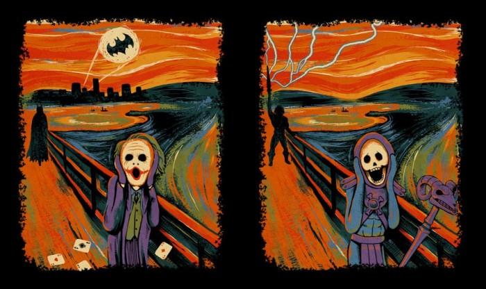 the screen - batman and he-man