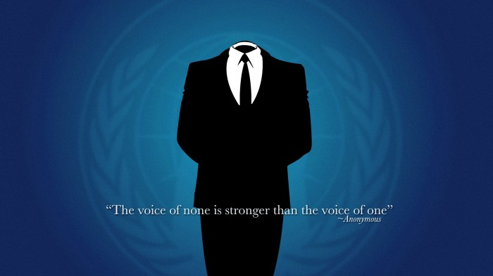 the voice of none is strong than the voice of one
