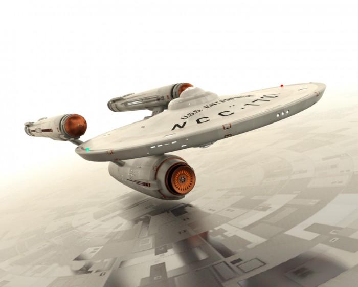 NCC-1701 saucer