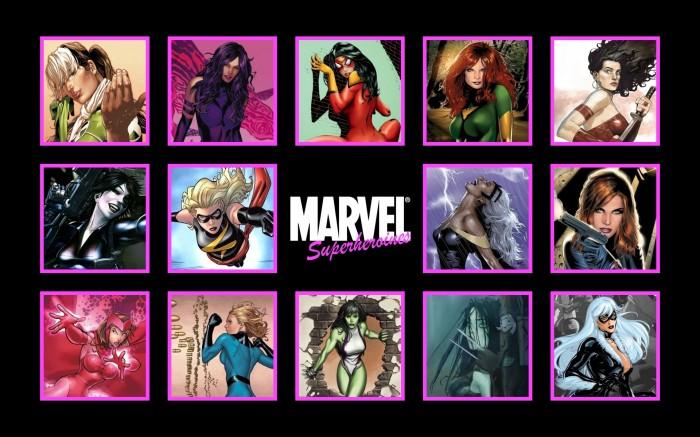 marvel superheroines