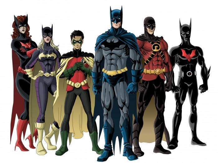 the new batfamily