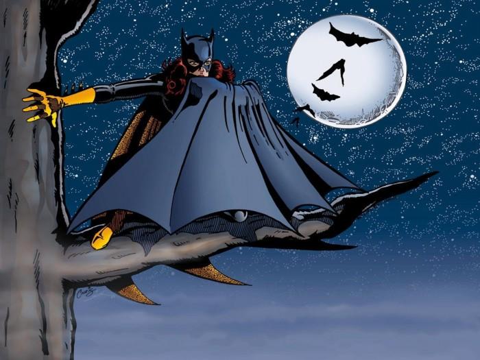 batgirl in tree