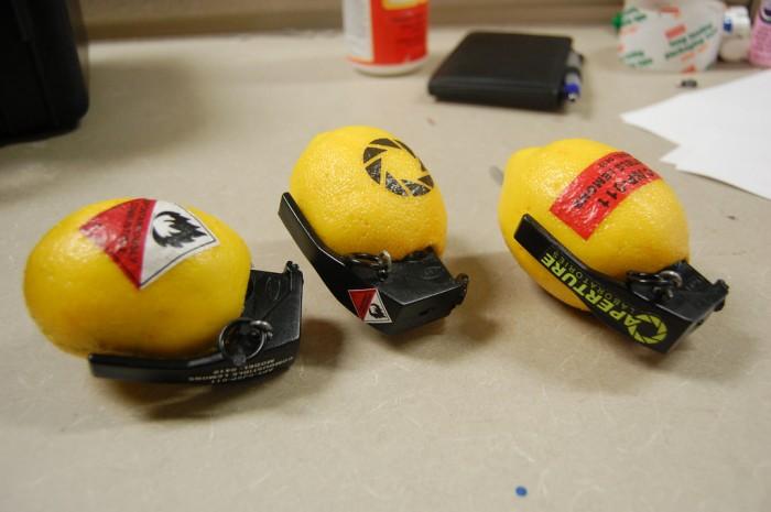 lemon grenades