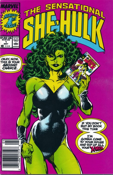 sensational she-hulk 1 comic cover