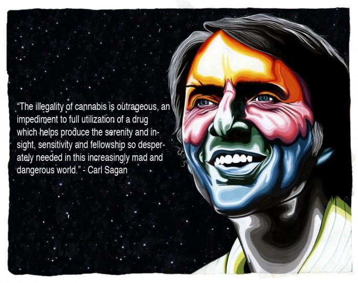 carl sagan on cannabis