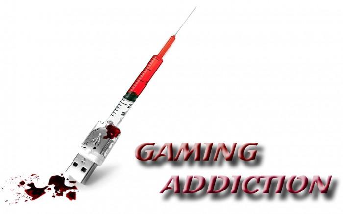 gaming addiction wallpaper