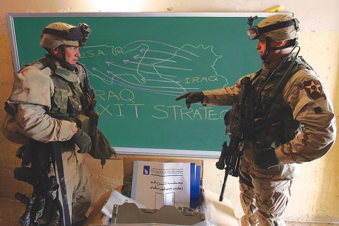 iraq exit strategy