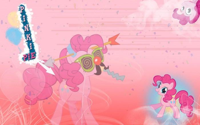 pinkie pie is so random 700x437 pinkie pie is so random Wallpaper Television my little ponies