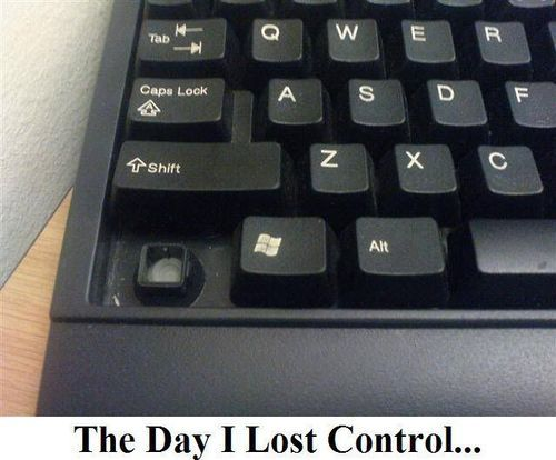 the day I lost control the day I lost control
