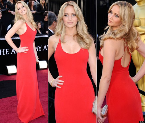 Jennifer Lawrence in a sexy red dress 500x425 Jennifer Lawrence in a sexy red dress Wallpaper Sexy red