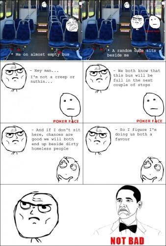 random dude on bus