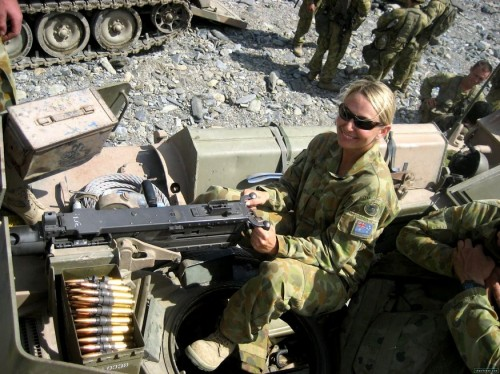 australian troop with m2