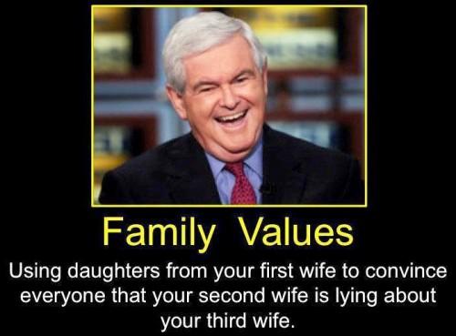 family values - newt edition