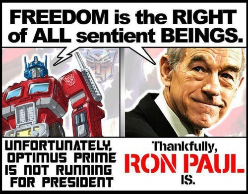 freedom is the right of all sentient beings