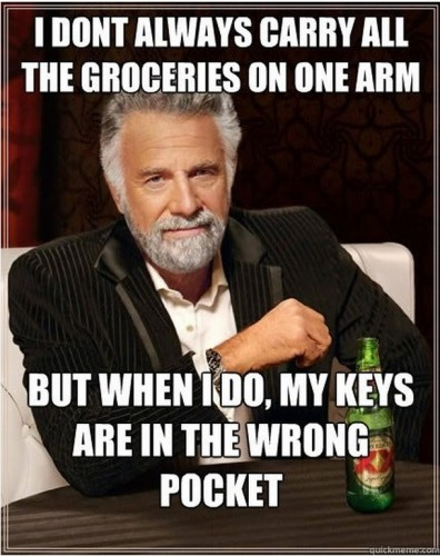 Carry all the groceries on one arm