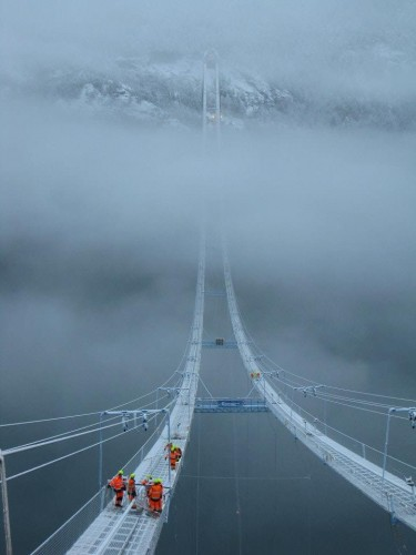 Just a bridge in Norway 375x500 Just a bridge in Norway