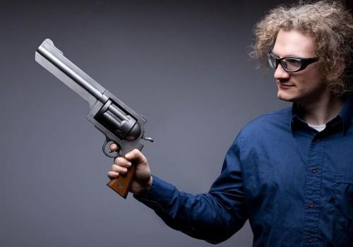 a large gun