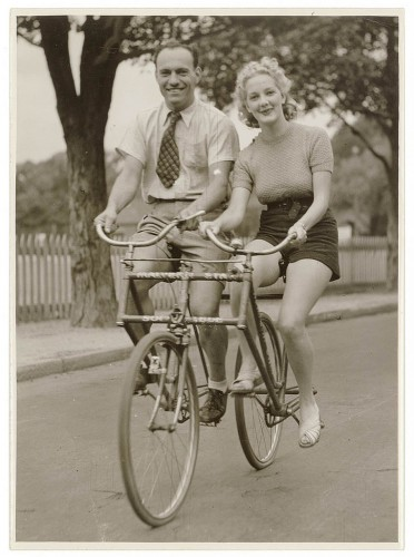 double vintage bike