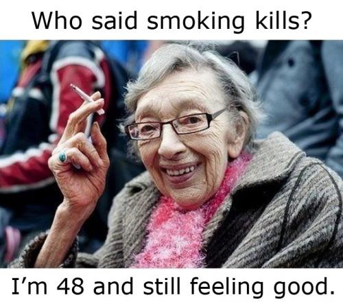 who said smoking kills