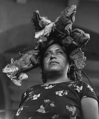 Graciela Iturbide, La Nuestra Senora de las Iguanas, Juchitan, Oaxaca, Mexico  Our Lady of the Iguanas, Juchitan, Oxaca, Mexico, 1979
