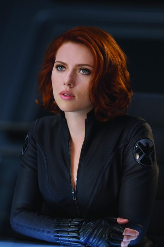 black widow pushing her boobs out   MyConfinedSpace