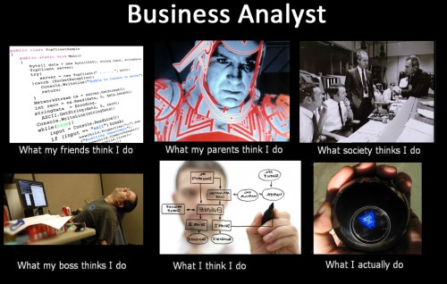 business analyst - what people think
