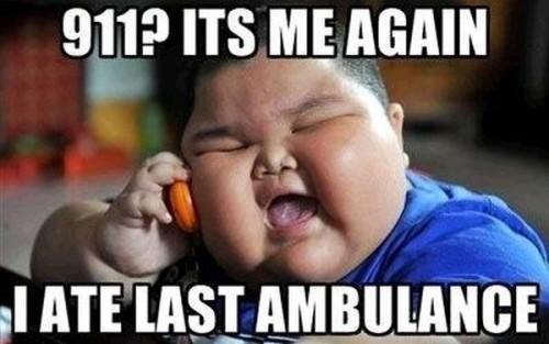i ate the last ambulance