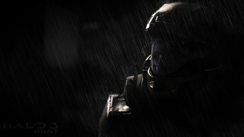 halo 3 odst - rain on the rook