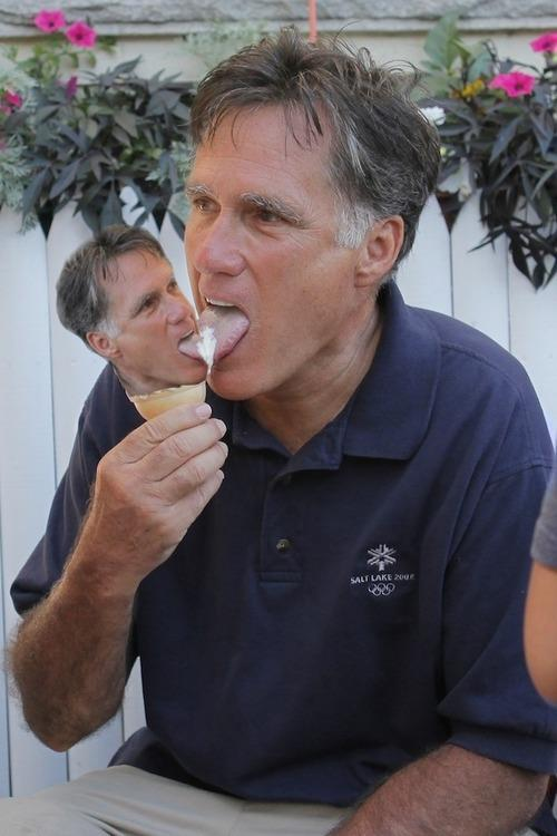 mittmittcone Mitt Romney Ice Scream romney Food