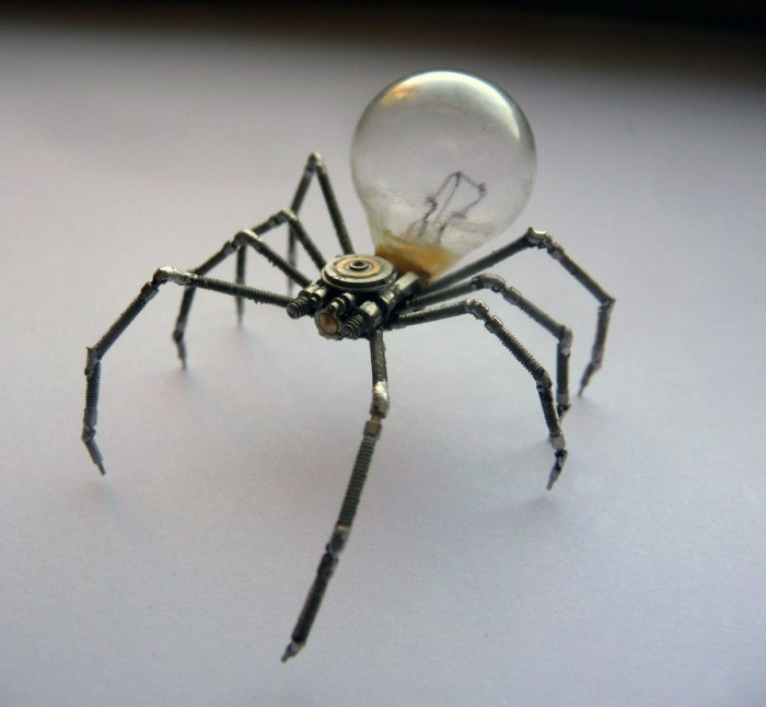 electric spider bulb 700x646 electric spider bulb