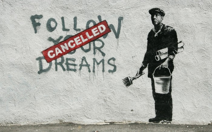 follow your dreams canceled 700x437 follow your dreams   canceled