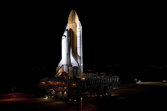 Rollout - Space Shuttle Atlantis STS 135 Florida.jpg