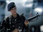 7 150x112 Soldier chicks Military guns chicks