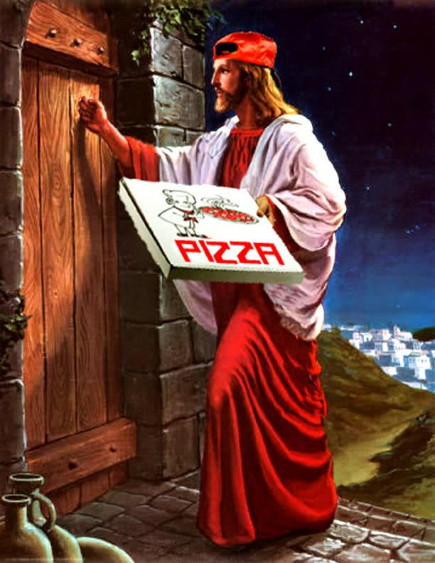 Holy Pizza Holy Pizza Religion Humor Food