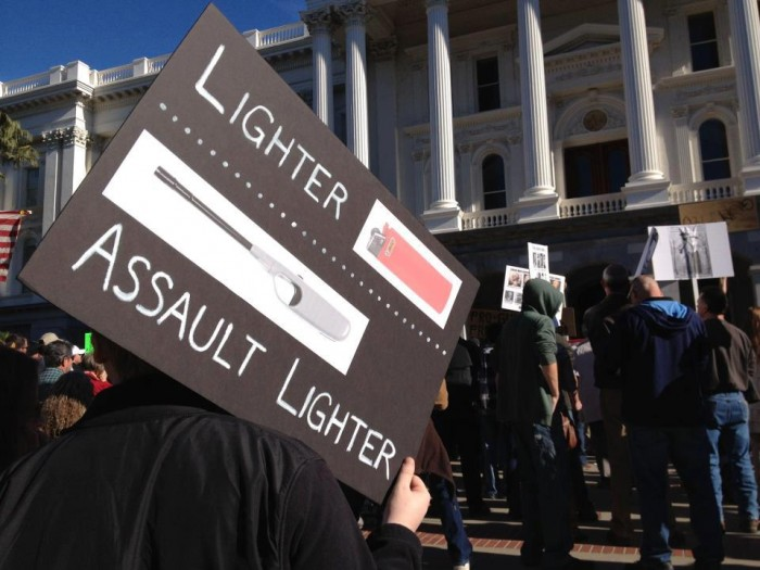 lighter vs assault lighter 700x525 lighter vs assault lighter Weapons Politics Humor