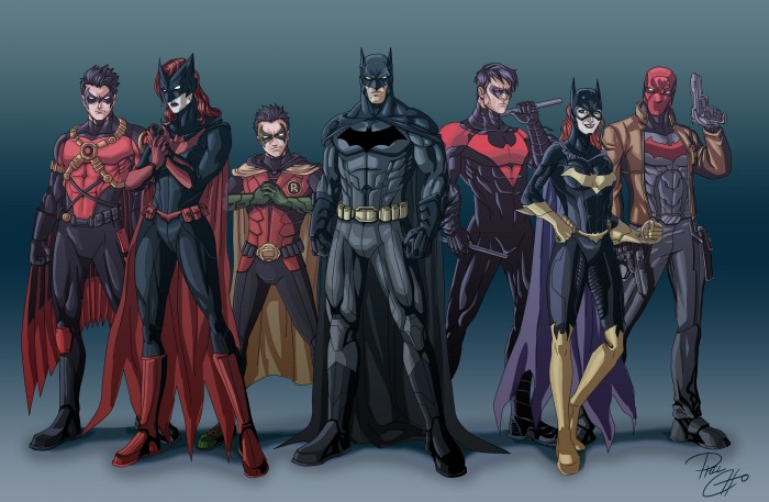 modern batfamily 700x457 modern batfamily Wallpaper Comic Books batman Awesome Things