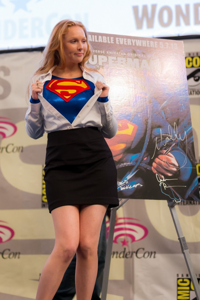 molly quinn is supergirl 700x1050 molly quinn is supergirl Television superman supergirl Sexy Movies cosplay Comic Books