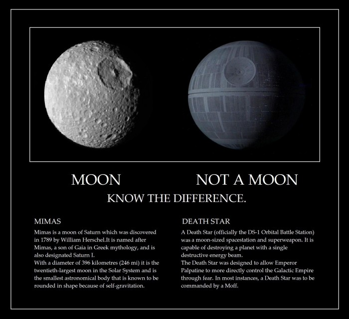 moon vs not a moon 700x641 moon vs not a moon star wars Humor