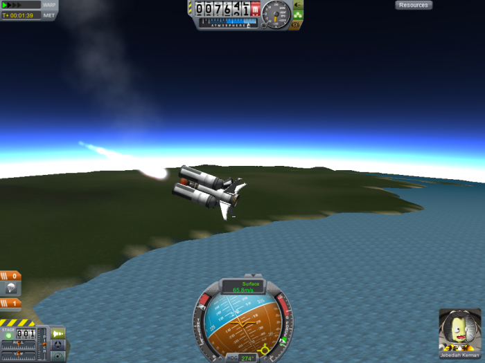 screenshot24 700x525 the raccoon plays KSP Space Science! Gaming