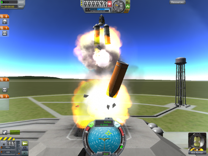 screenshot35 700x525 the raccoon plays KSP Space Science! Gaming