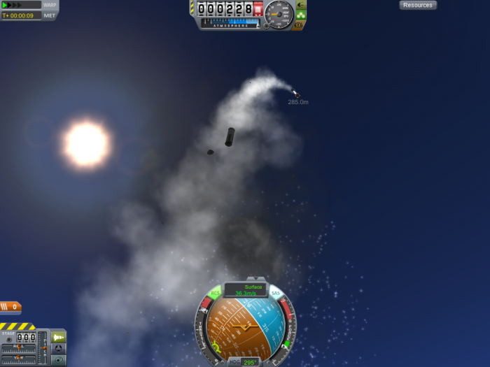 screenshot39 700x525 the raccoon plays KSP Space Science! Gaming