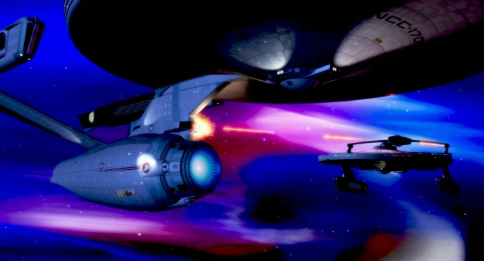 star trek II phaser battle 700x378 star trek II phaser battle Wallpaper star trek