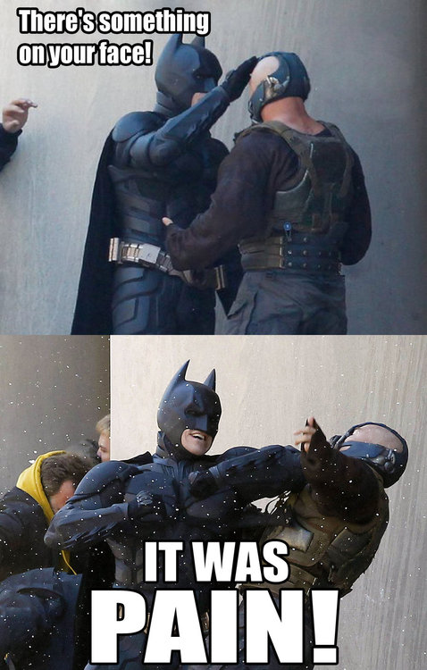 There's something on your face bane.jpg