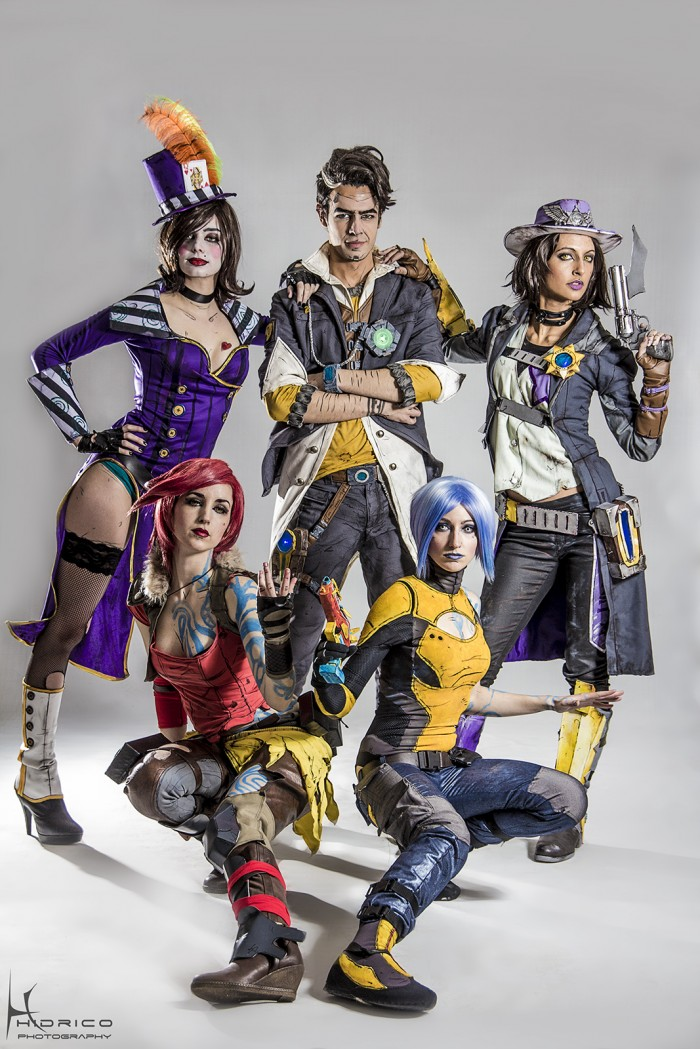 borderlands 2 cosplay group by hidrico 700x1049 borderlands 2 cosplay group by hidrico Sexy Gaming cosplay borderlands