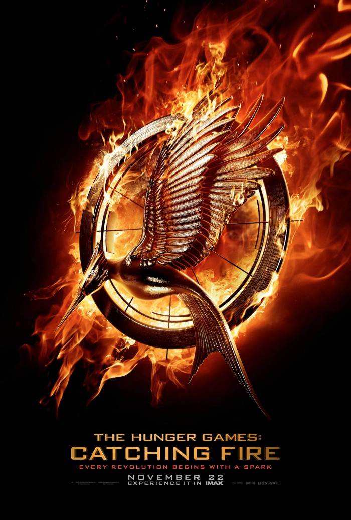 hunger games catching fire movie poster 700x1037 hunger games catching fire movie poster