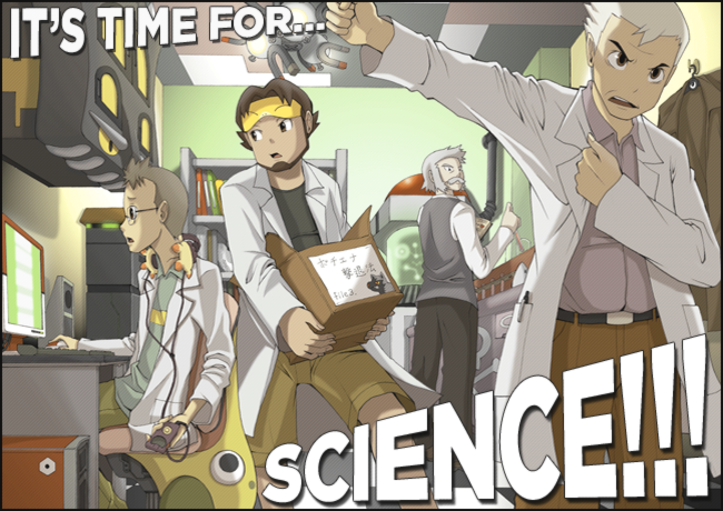 its time for SCIENCE its time for SCIENCE