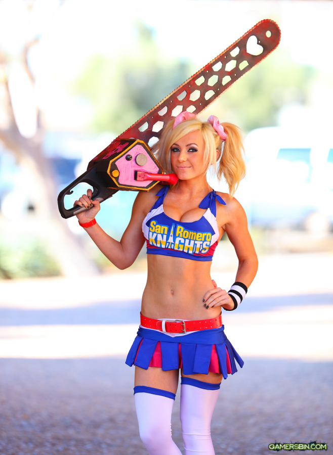 lolipop chainsaw cosplayer lolipop chainsaw cosplayer not exactly safe for work Gaming cosplay